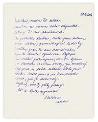 Zmenšený dopis